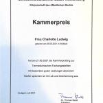 Kammerpreis Charlotte Ludwig
